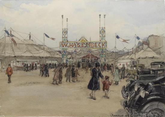 Cirque Hagenbeck (Court)