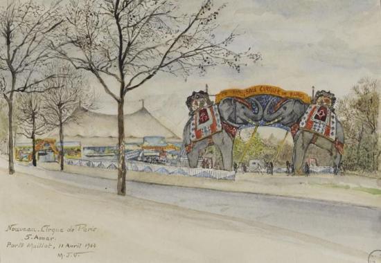 Nouveau cirque de Paris (Sherif Amar)