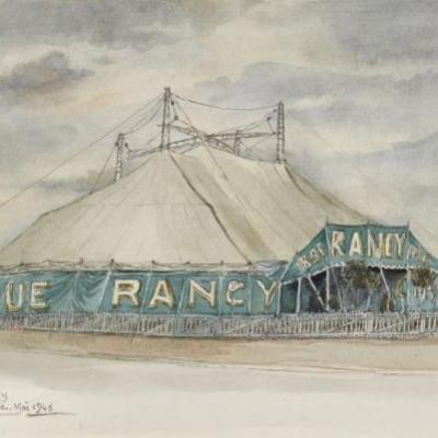 Les cirques en images des soeurs Vesque