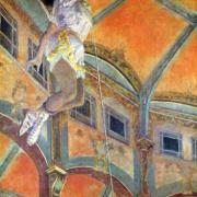 Miss Lala au cirque Fernando